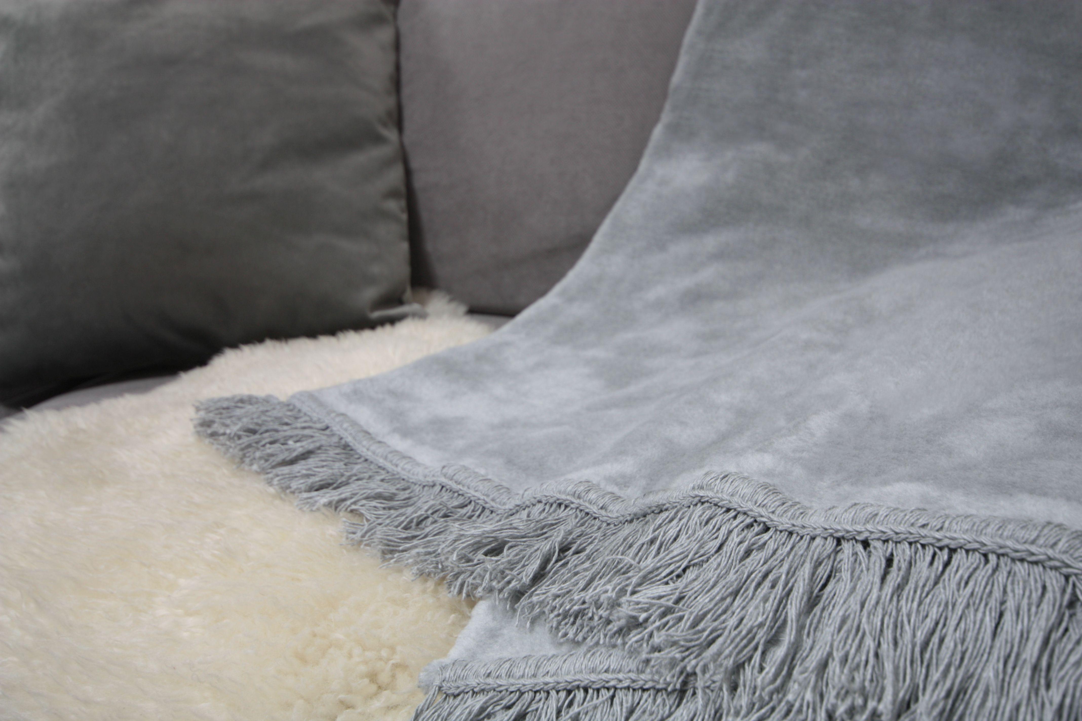 Koc bawełniano-akrylowy (kolor 23)
