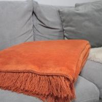 Koc bawełniano-akrylowy (kolor 8)