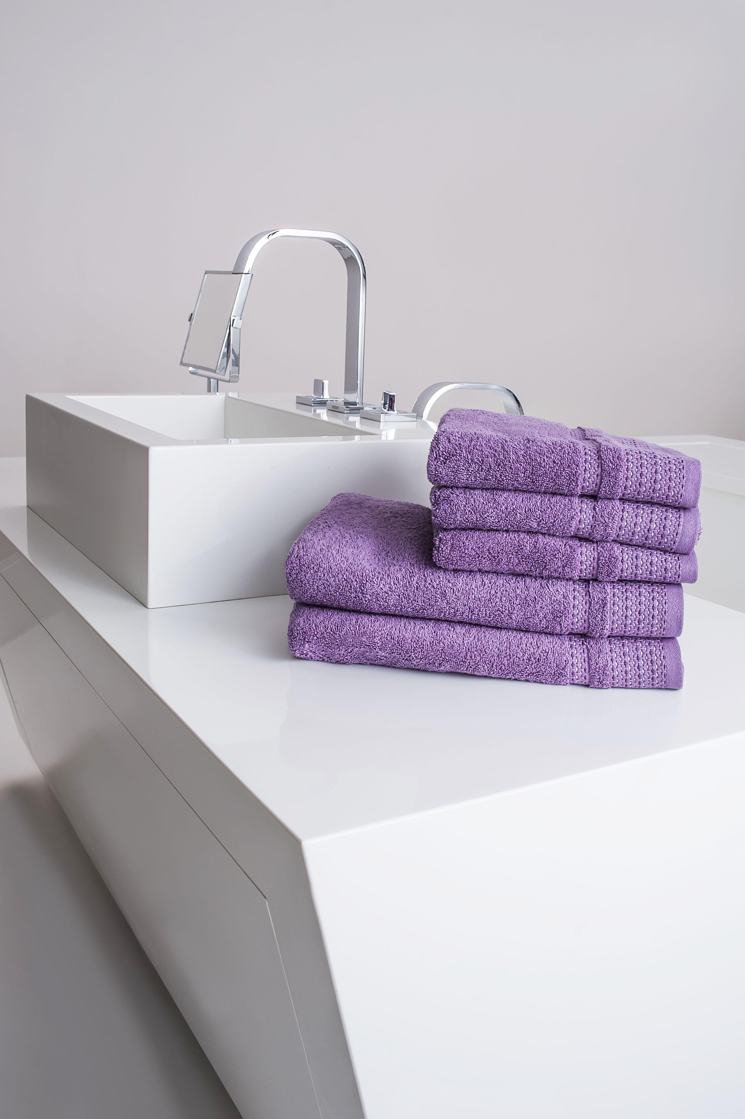 Ręcznik Fiord fioletowy