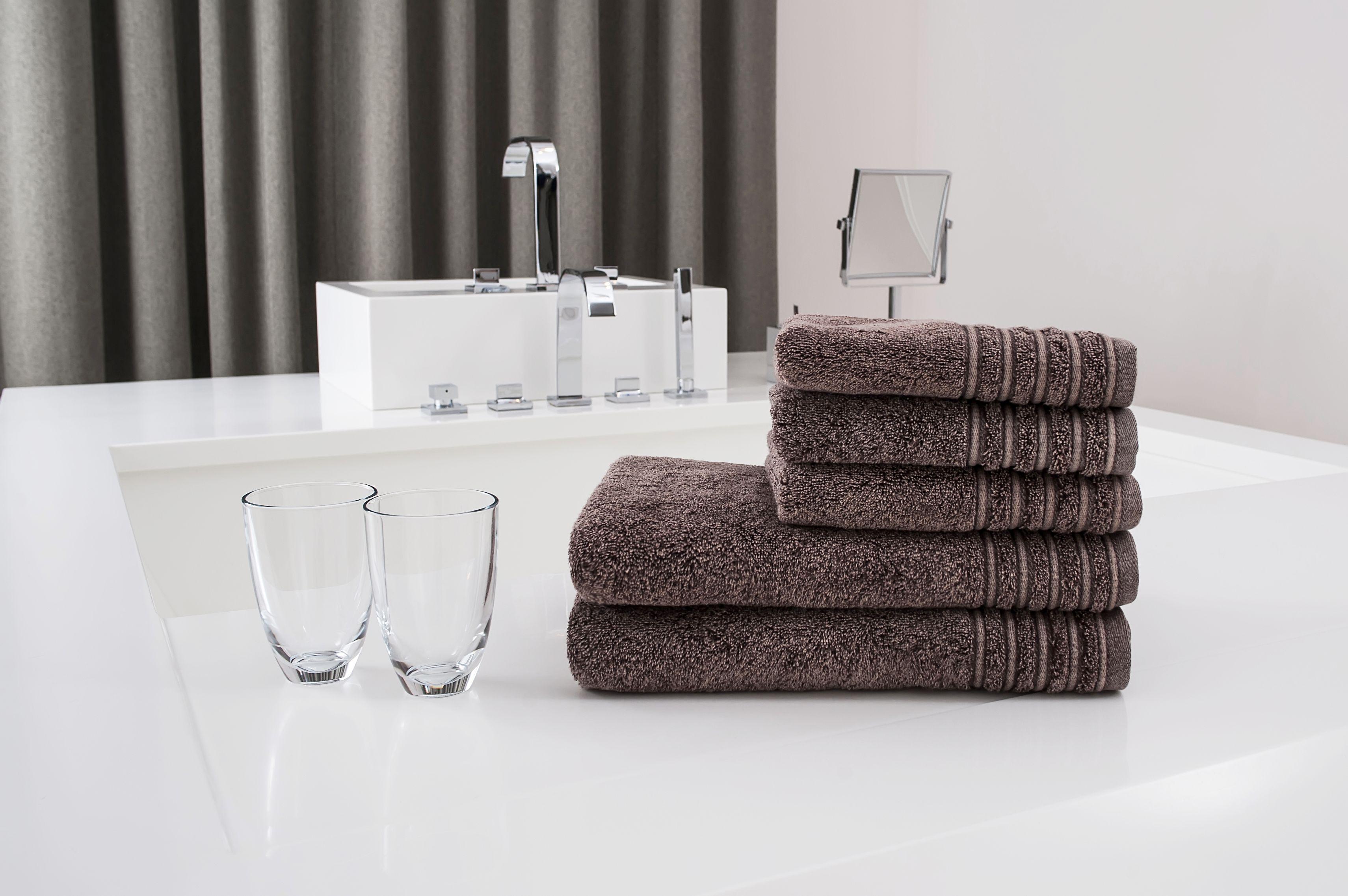 Ręcznik Jeans brązowy