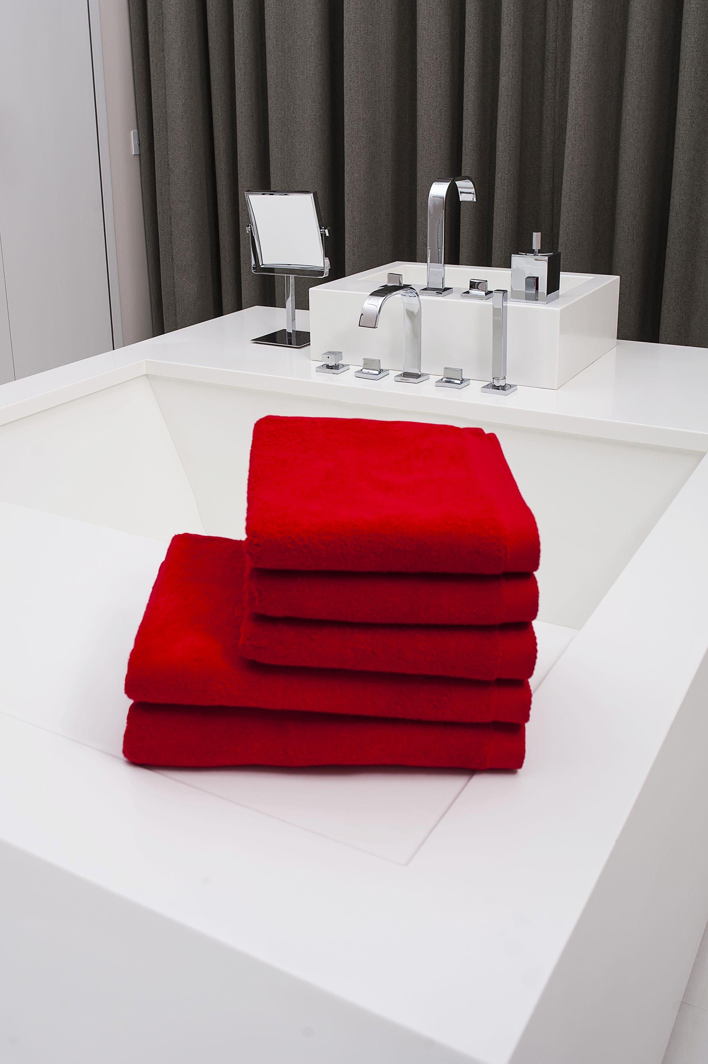 Ręcznik Kameleon czerwony