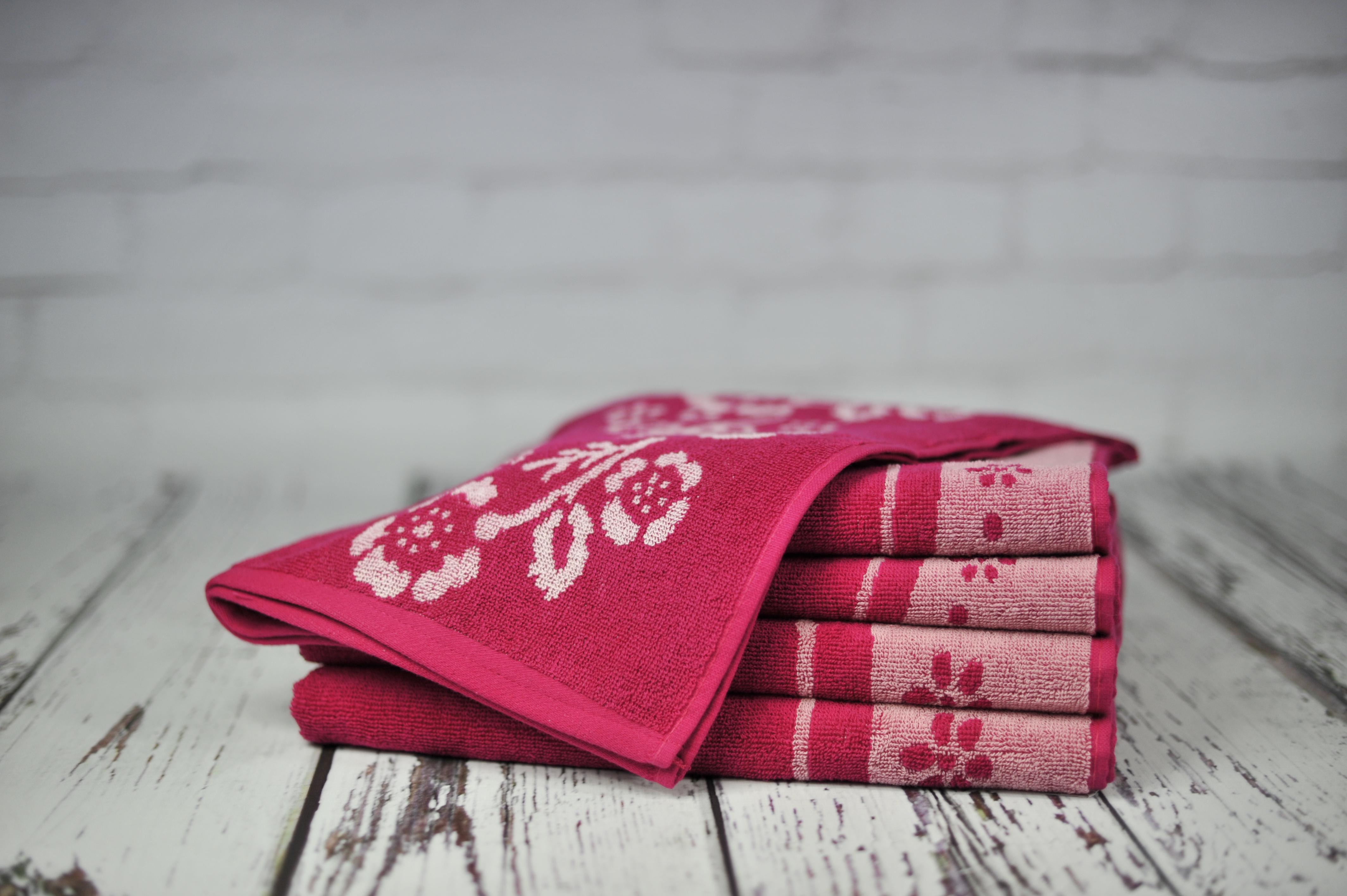 Ręcznik Piwonia różowy