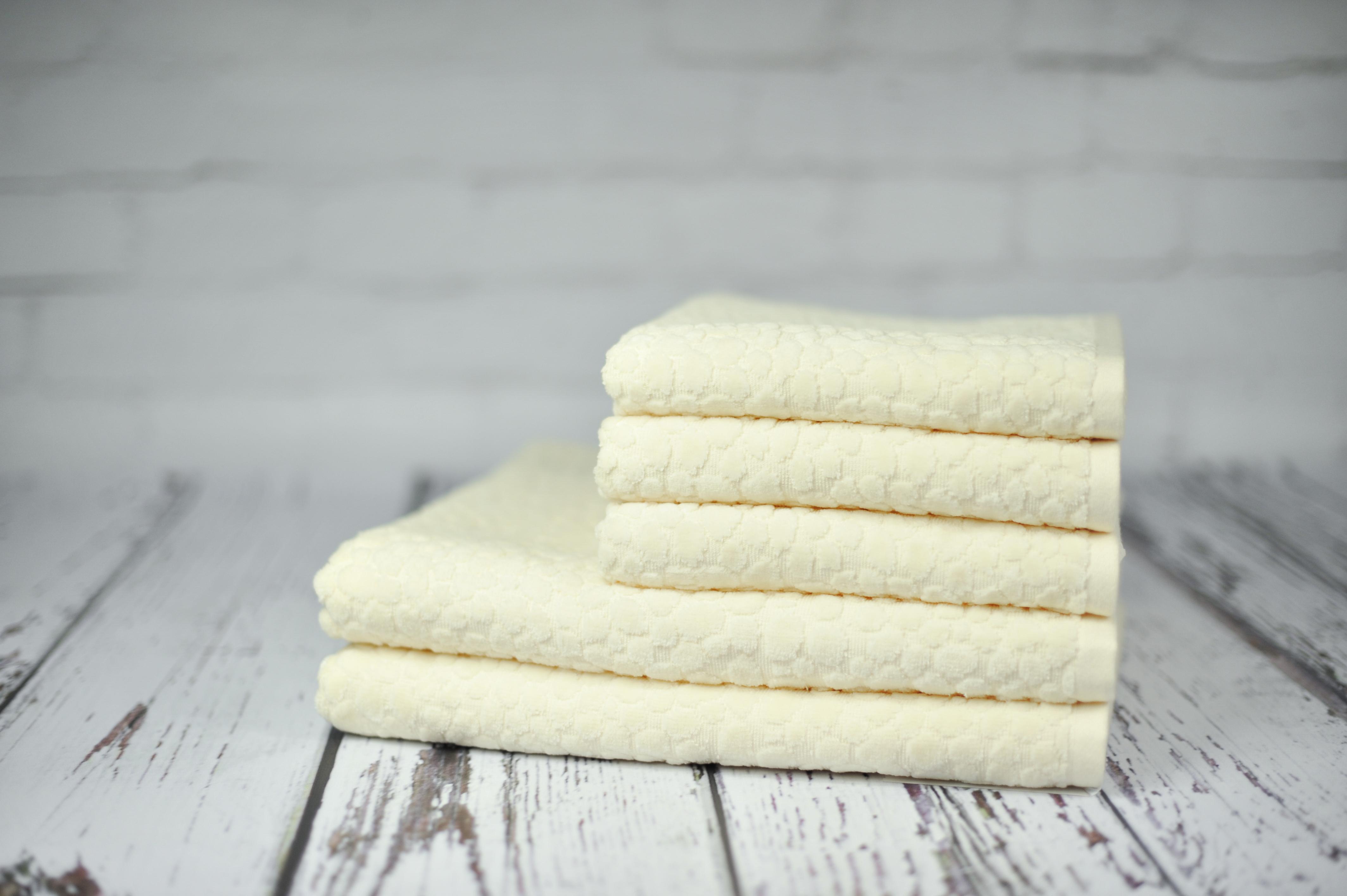 Ręcznik Helena kremowy