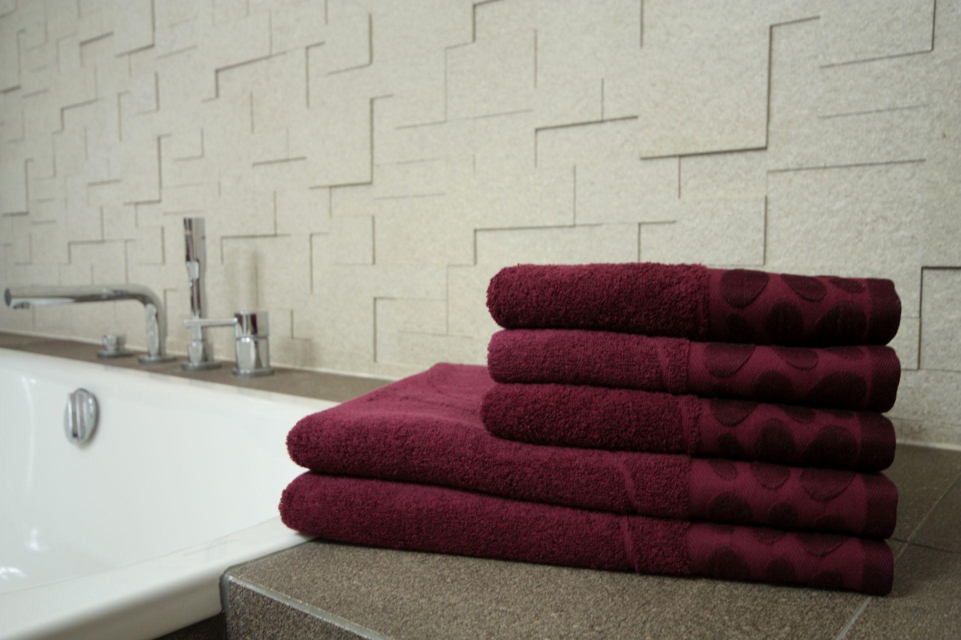 Ręcznik Bazalt bordowy