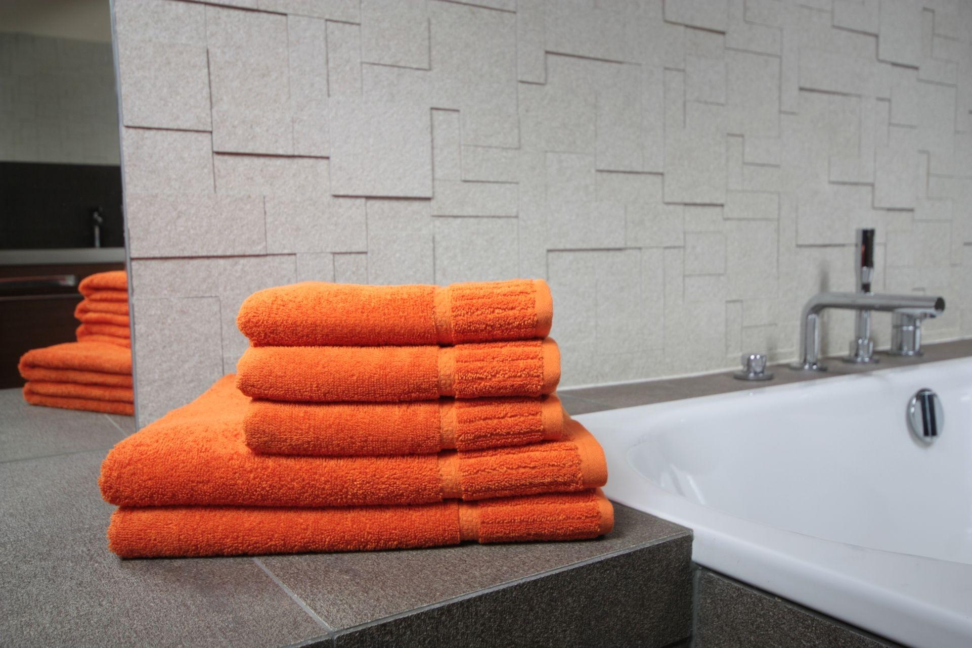 Ręcznik Bazyl pomarańczowy