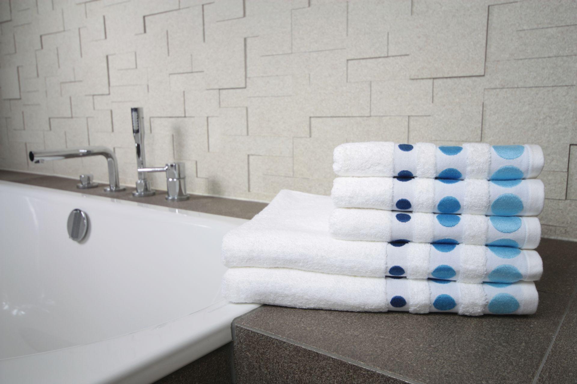 Ręcznik Dots niebieski