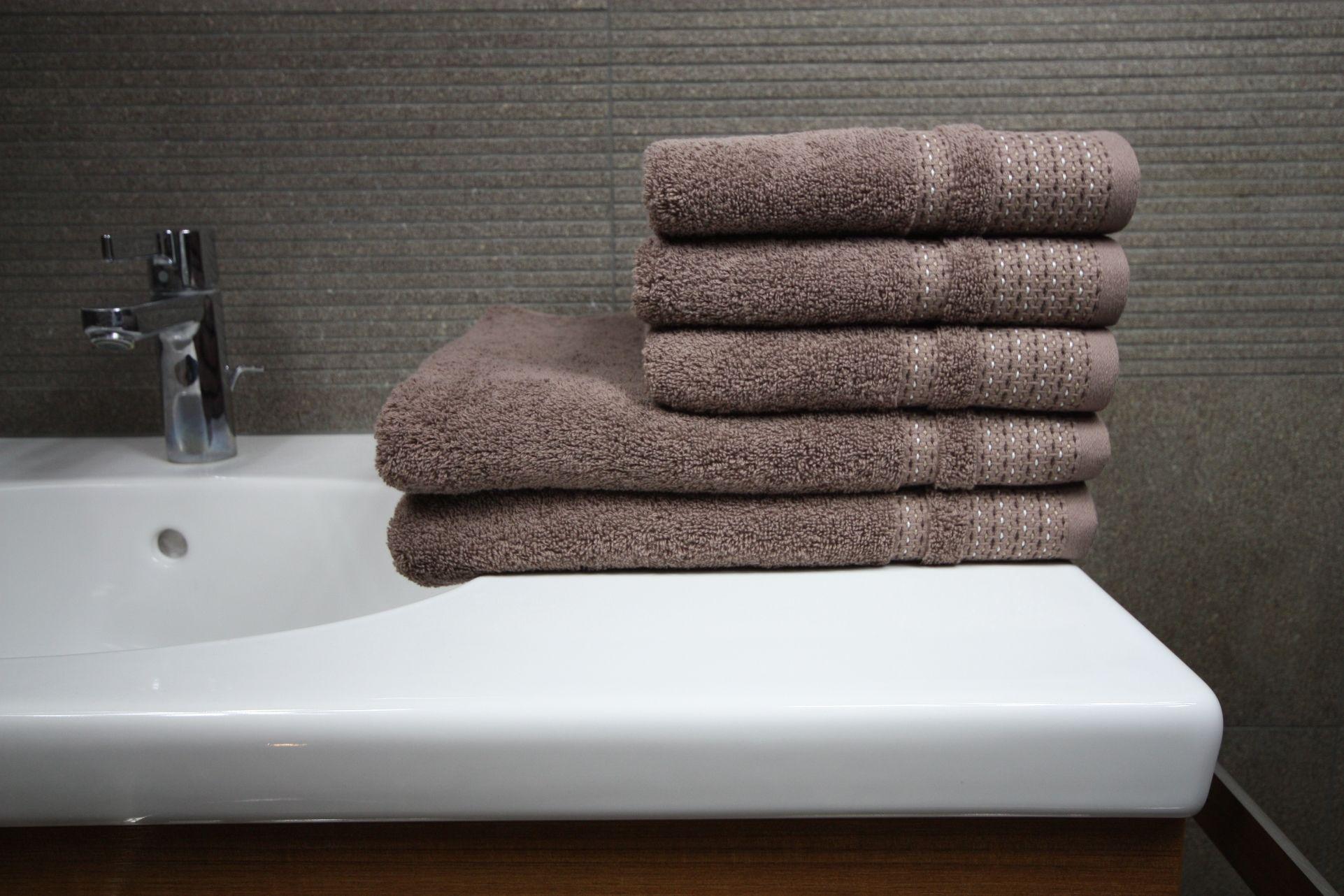 Ręcznik Fiord brązowy