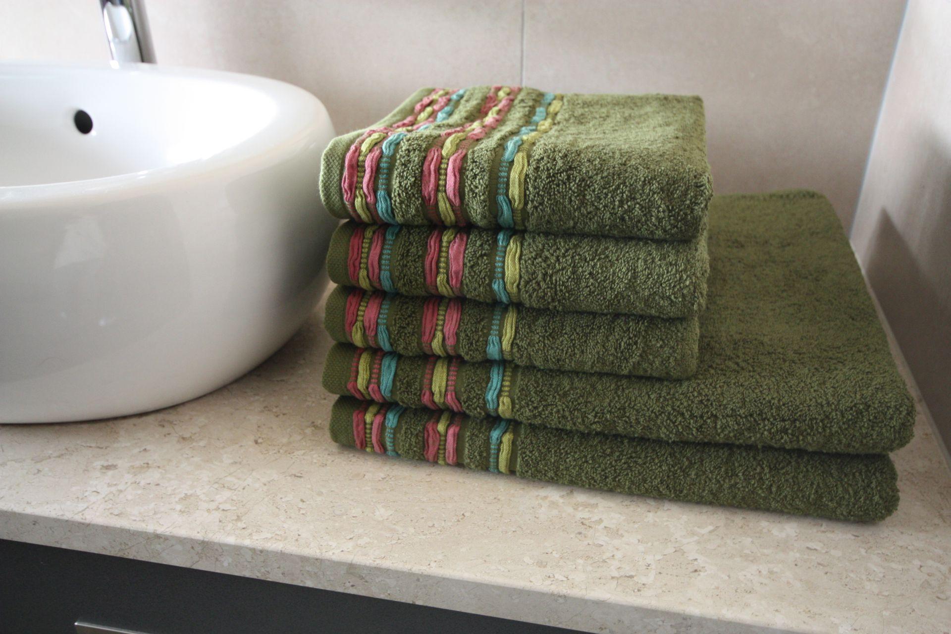 Ręcznik Gaudi zielony