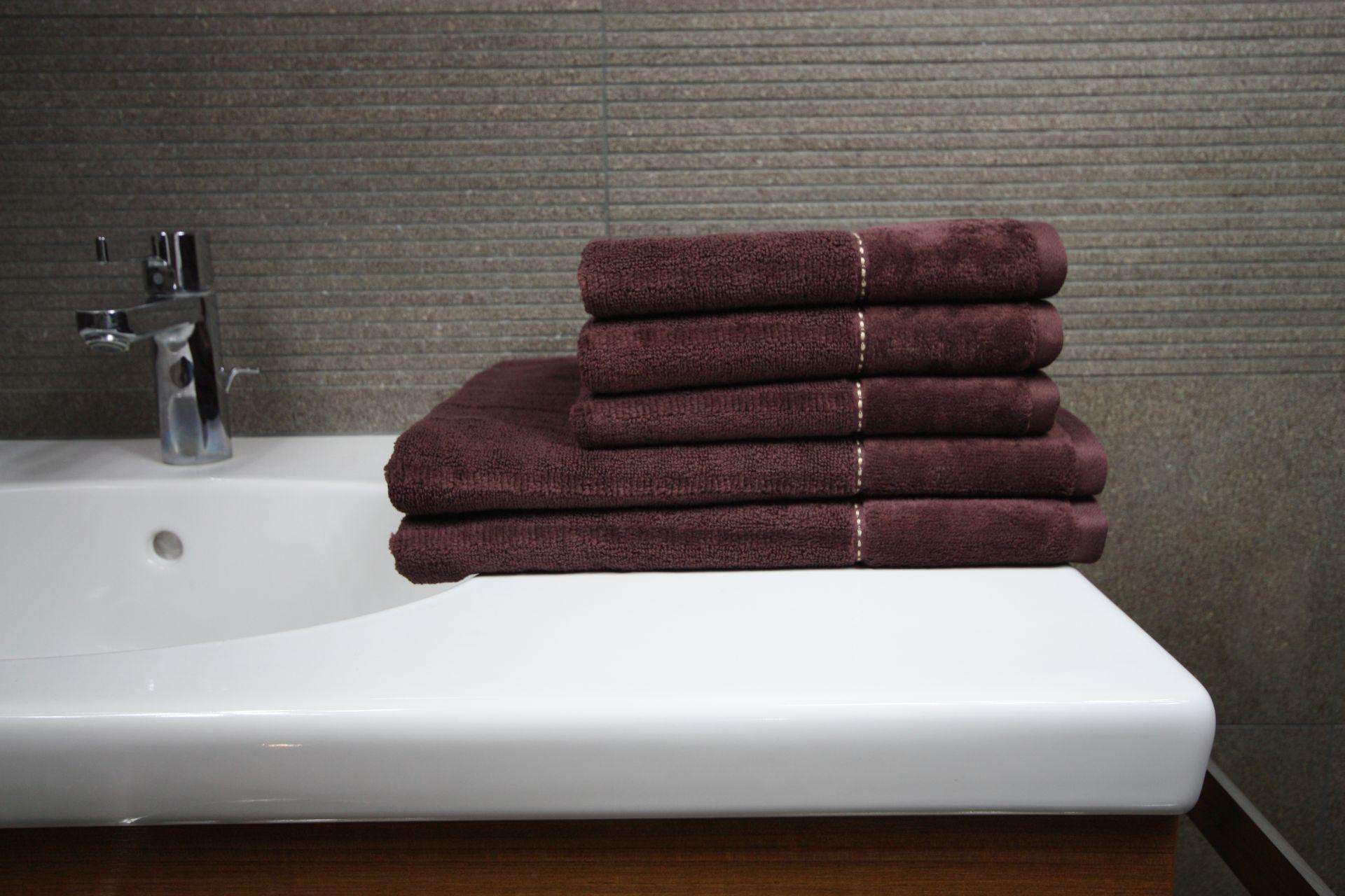 Ręcznik Luna brązowy