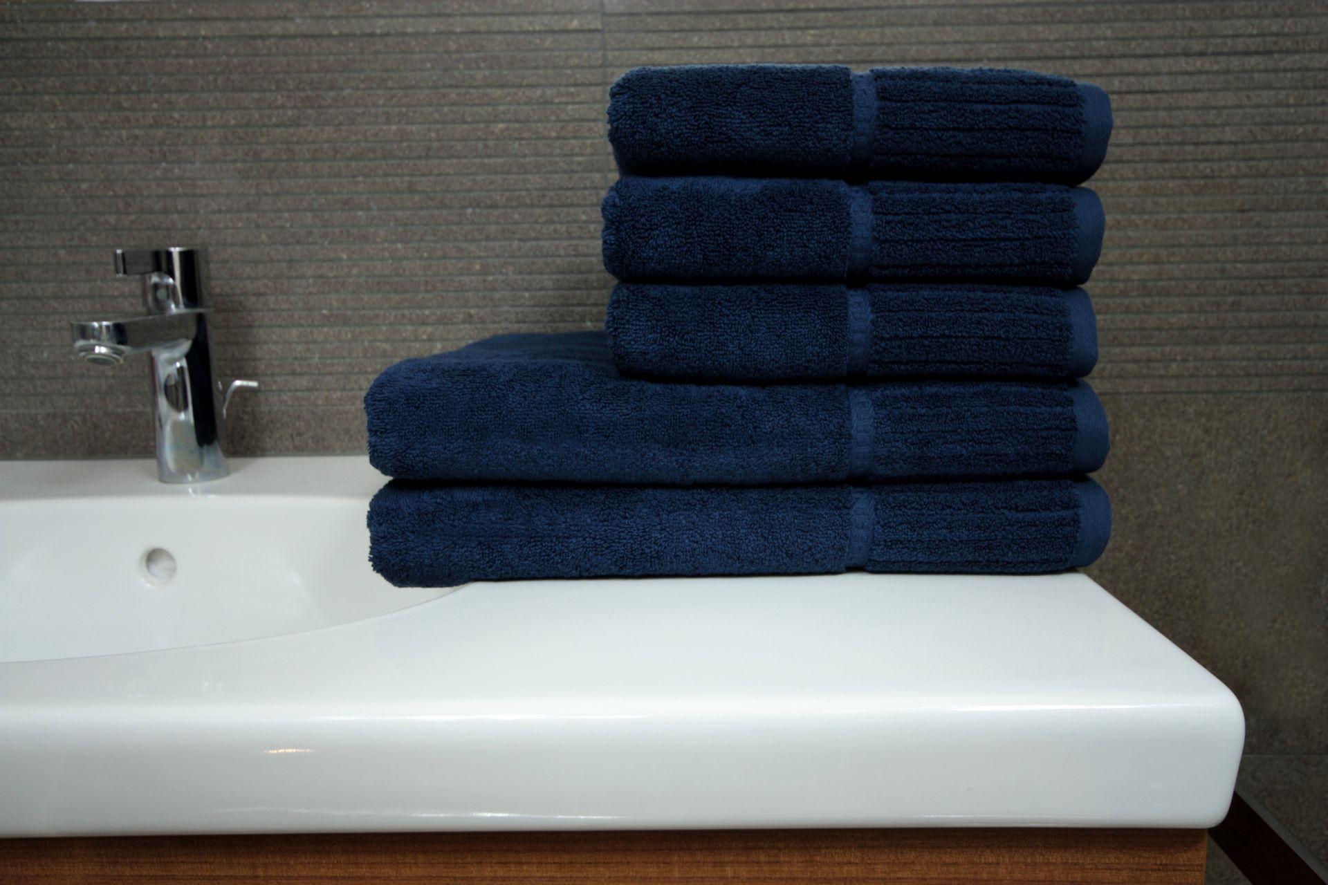 Ręcznik Malwa granatowy