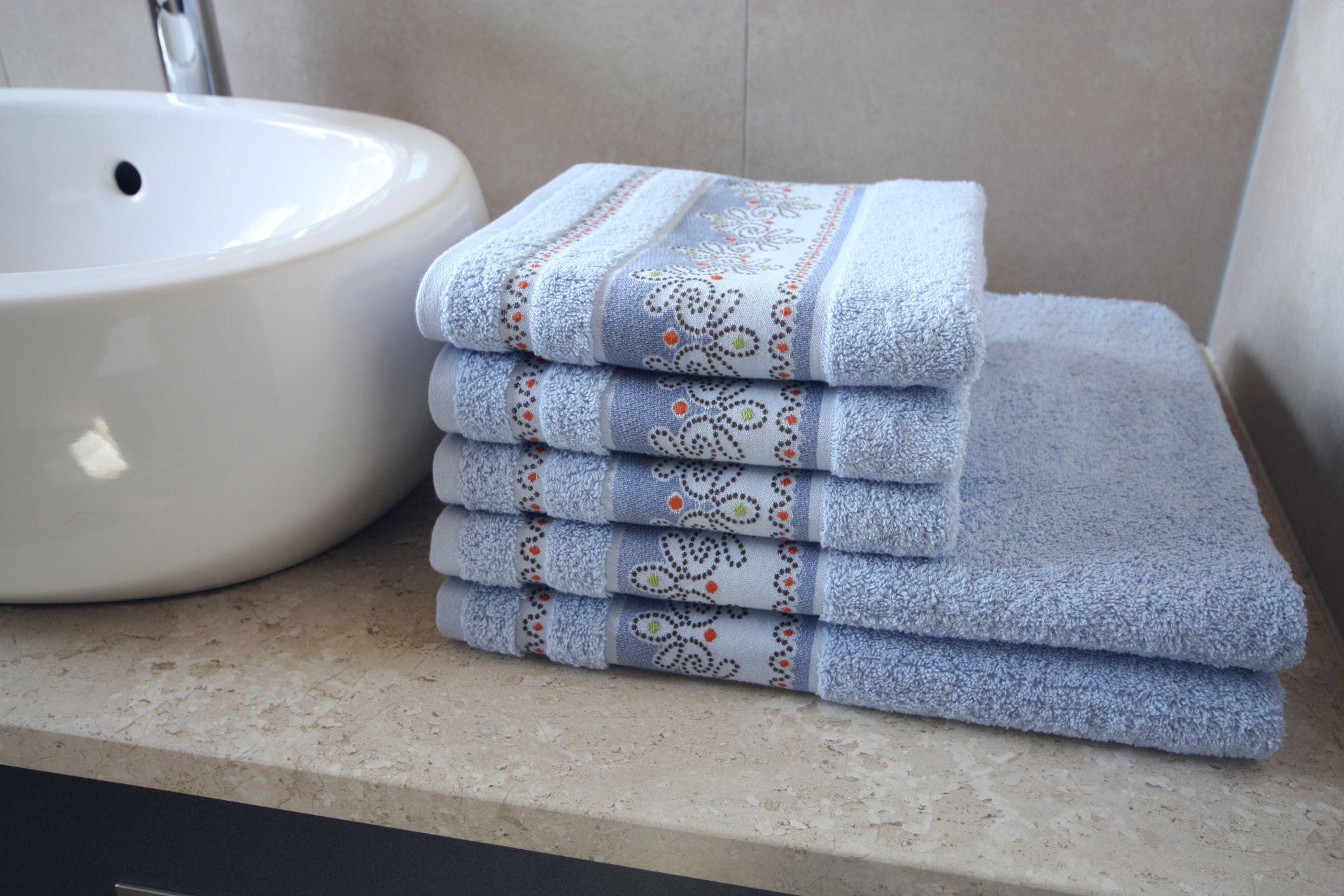 Ręcznik Pawik niebieski