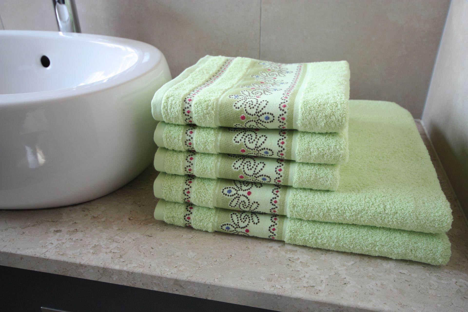 Ręcznik Pawik zielony