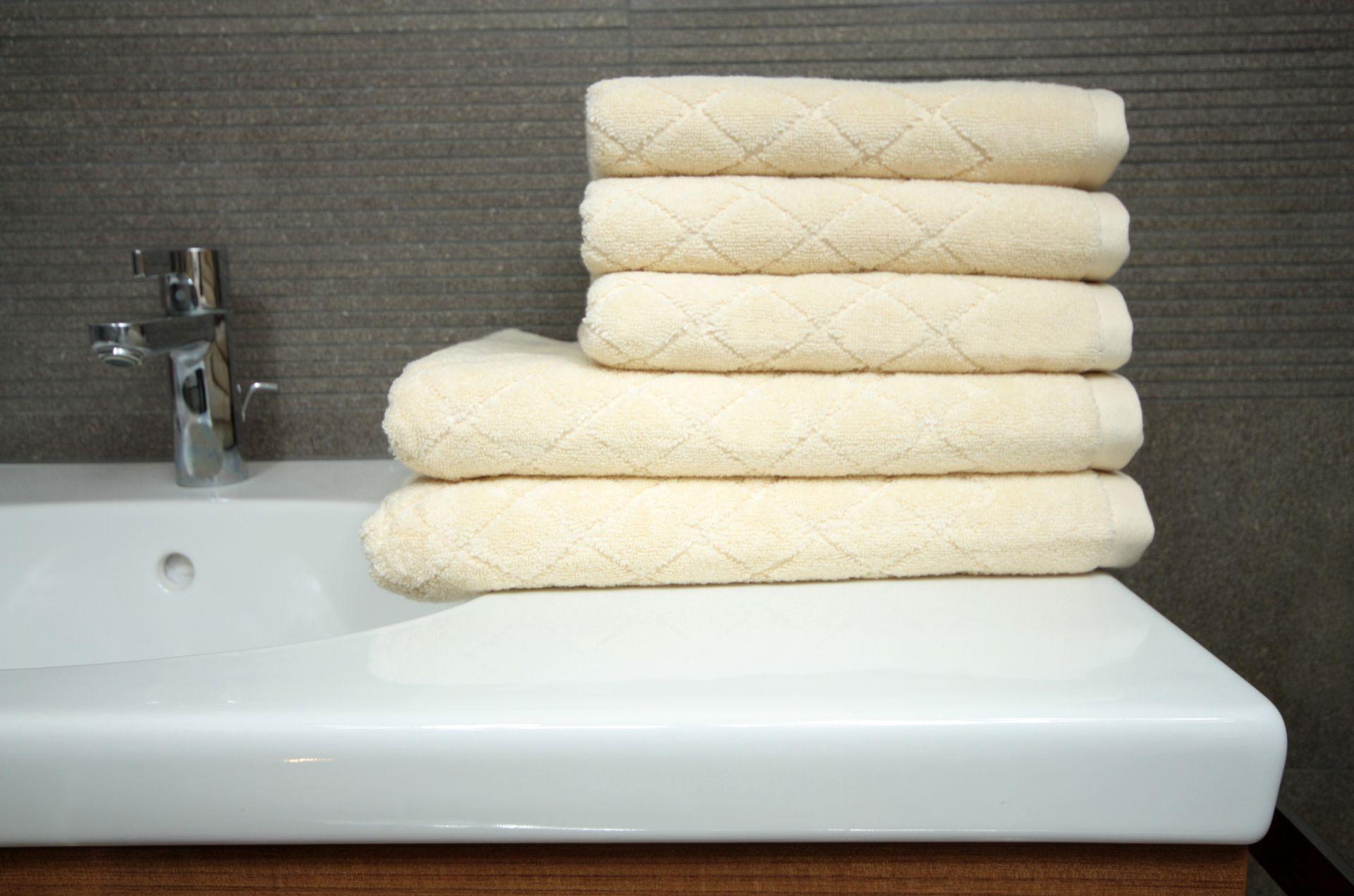 Ręcznik Romby écru