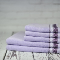 Ręcznik Kwarc jasnofioletowy