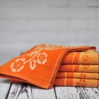 Ręcznik Piwonia pomarańczowy