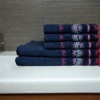 Ręcznik Aztec granatowy