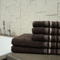 Ręcznik Bruno brązowy