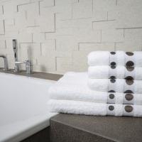 Ręcznik Dots brązowy