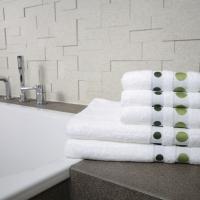 Ręcznik Dots zielony