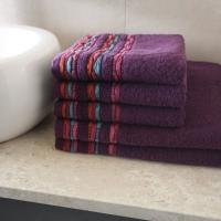 Ręcznik Gaudi fioletowy
