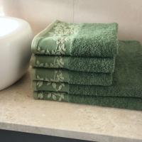 Ręcznik Oliwia zielony