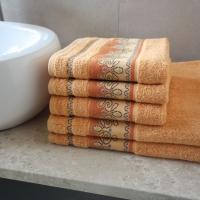 Ręcznik Pawik pomarańczowy