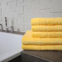 Ręcznik Róża żółty