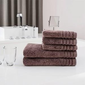 Ręczniki Jeans brązowe